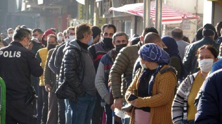Gaziantep'te sosyal mesafe yok sayıldı!