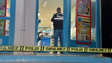 Adana Seyhan'da marketten pompalı tüfekle gasp
