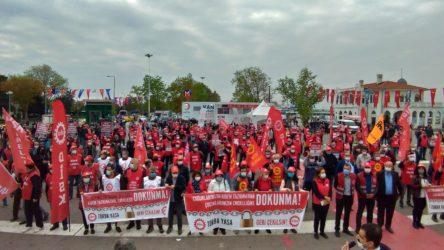 DİSK: Torba yasayı geri çekin