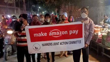 """Amazon işçileri, 15 ülkede """"Kara Cuma"""" eylemi yaptı"""