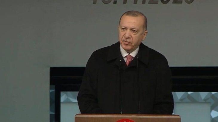 Erdoğan Lefkoşa'da hastane açılışına katıldı