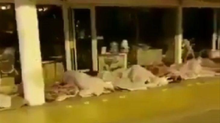 Sokağa çıkma yasağında İstanbul: Evsizler altgeçide sığındı