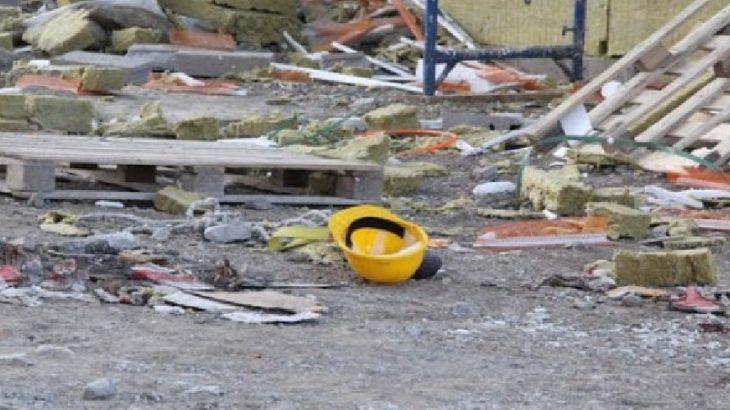 İnşaatın çatısından düşen 22 yaşındaki işçi hayatını kaybetti