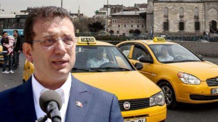 İBB'nin '6 bin yeni taksi' projesi teklifi üçüncü kez reddedildi