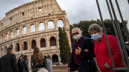 İtalya'da son 24 saatte 500'den fazla ölüm