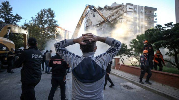 İzmir depreminden etkilenen yurttaşa fay hattında konut