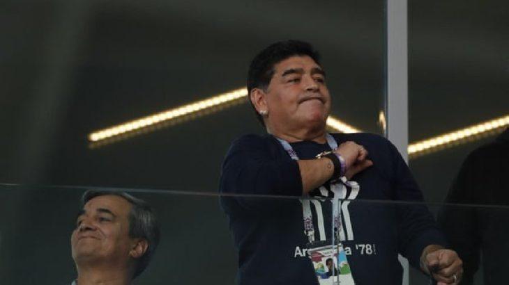 Futbol efsanesi Maradona yaşamını yitirdi