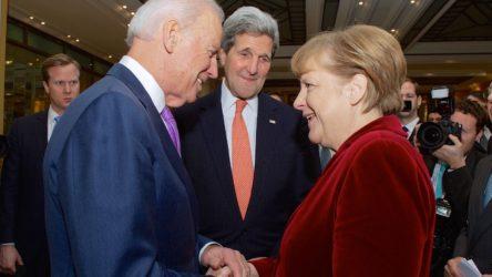 Merkel'den Biden'a tebrik: ABD ve Almanya birlikte durmalı