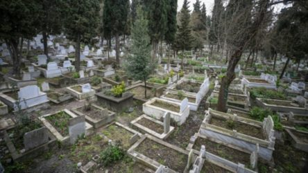 İstanbul'da mezar yeri karaborsası...