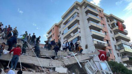 Kurtarma çalışmalarına ara verilen binanın enkazında, az sayıda ekip çalışmalara devam edecek