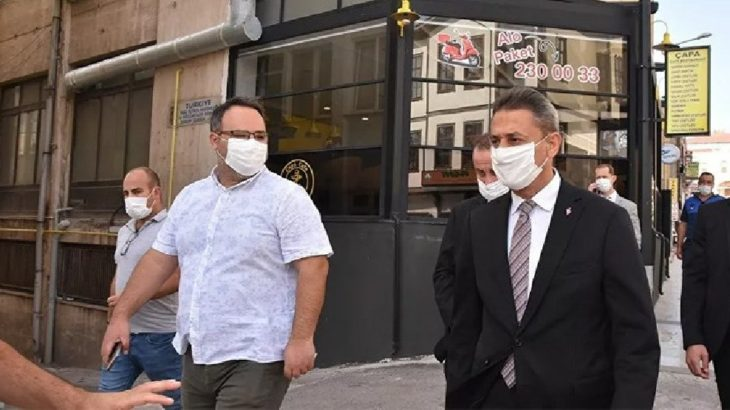 Sinop'ta koronavirüs vakaları arttı: Vali, 'kurban olurum, taziyeleri yapmayalım' dedi