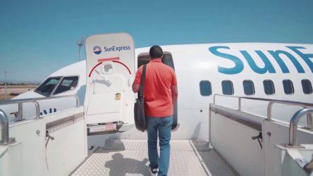 SunExpress uçaklarında sosyal mesafe satıyor!