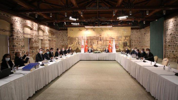 Patronlarla 'reform' görüşmesi sonrası Bakan Elvan: Verimli bir toplantı oldu