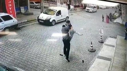 Büyük tepki çeken görüntü: Çocuğu kaldırıp yere çaptı