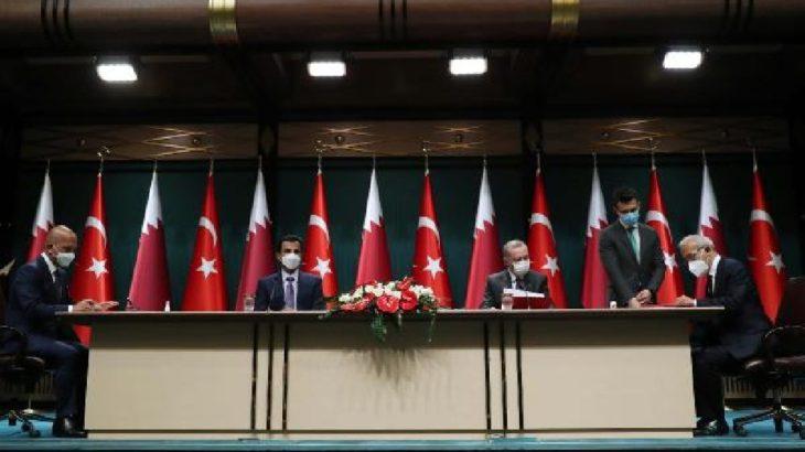 Katar-Türkiye anlaşma masasına Tamince ve Şahenk de oturdu