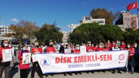 Emekliler kapatma davalarına karşı ses yükseltti: Sendikama dokunma!