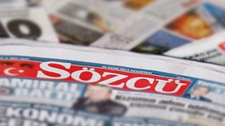 Sözcü'ye 14,5 milyon liralık ceza