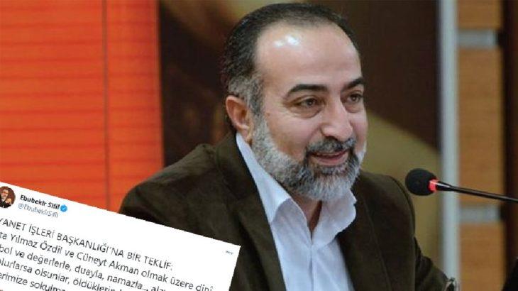 Gülen'den Ebubekir Sifil'e övgü dolu sözler