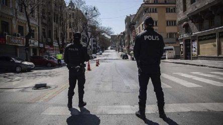 Sokağa çıkma kısıtlamalarına uymayan 37 bin 614 kişi hakkında işlem yapıldı
