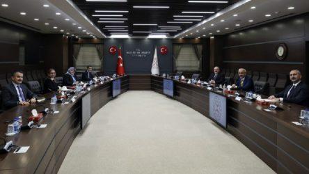 6 bakan 'ekonomi ve reform' gündemli toplantı gerçekleştirdi