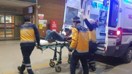 İnegöl'de bir işçi elini bıçak makinesine kaptırdı