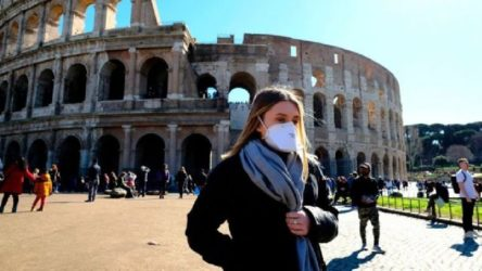 İtalya'da son 24 saatte coronadan 500'den fazla ölüm