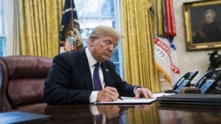Trump Türkiye'ye yaptırım paketini imzaladı