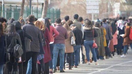 Geçen yıl 100 kişiden 55'i işsizlik maaşı alırken bu yıl sayı 30'a düştü