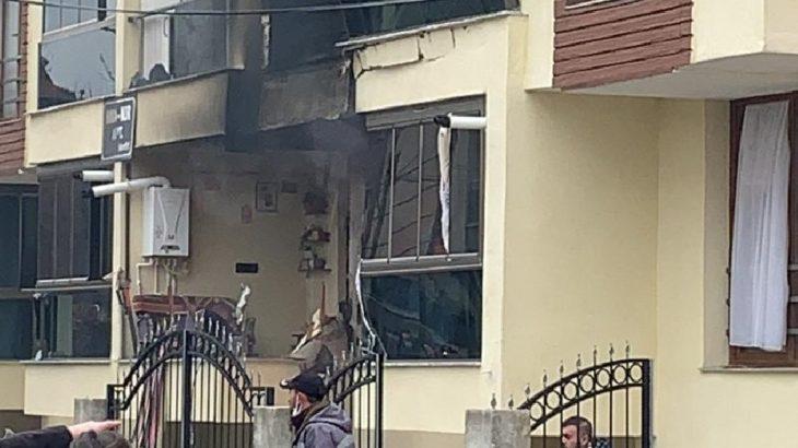 Uşak'ta doğalgaz patlaması: 5 yaralı