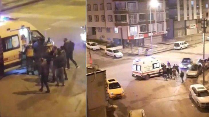Ankara'da sağlıkçıya şiddet!