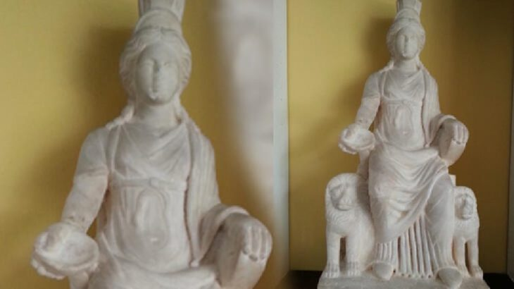 'Ana tanrıça Kybele' heykeli Türkiye'ye dönüyor