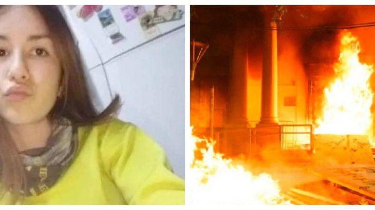 Arjantin'de 14 yaşındaki bir kız çocuğunun polisten yardım istenmesine rağmen öldürüldüğü ortaya çıkmıştı: Kadınlar adalet sarayını ateşe verdi