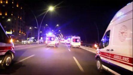 Siren çalan ambulans şoförlerine soruşturma