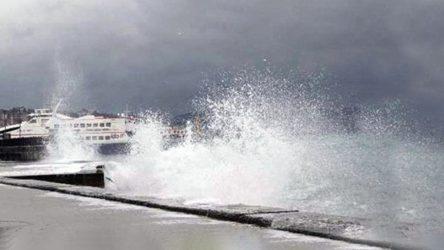 BUDO seferlerine fırtına engeli