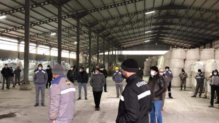 Çorum'daki Ekmekçioğlu Metal'de sendikaya üye olan işçiler işten atıldı