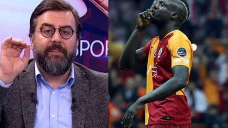 Spor yorumcusu Emre Bol'dan ırkçı Diagne yorumu: Senegal'de timsah yiyordu, geldi burada topçu oldu