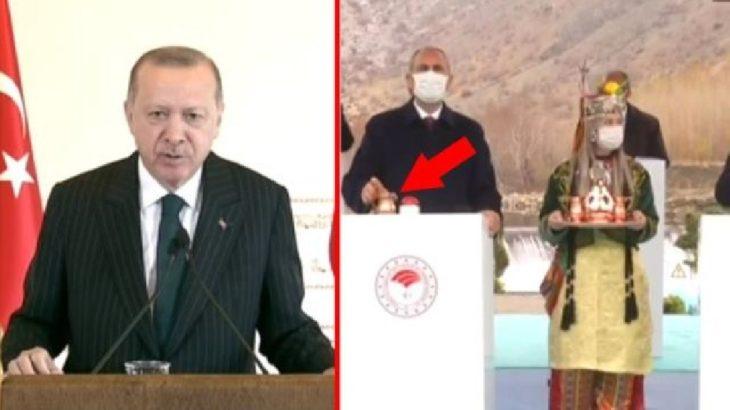 Erdoğan'dan Gül'e maske izni