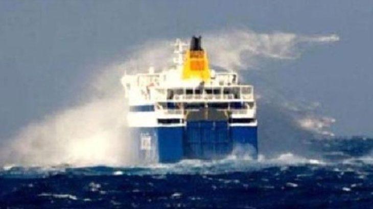 Fırtına nedeniyle yarınki Gökçeada feribot seferlerinin bir kısmı iptal edildi