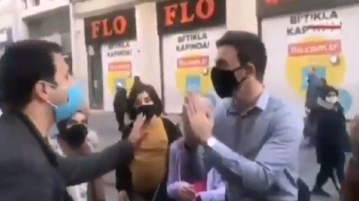 Sokağa çıkma yasağından muaf Arap turistler muhabire saldırdı