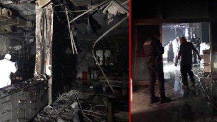 Hastanedeki patlamada hayatını kaybedenlerin sayısı 12'ye yükseldi