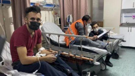 İstanbul'da yemekten zehirlenen 135 inşaat işçisi hastaneye kaldırıldı!