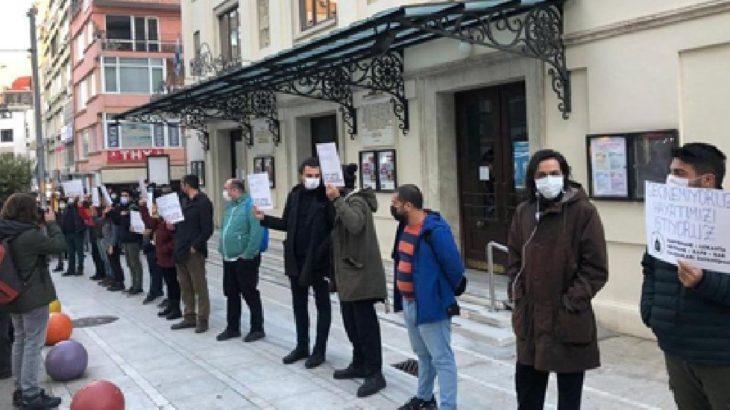 Kafe ve bar çalışanlarından Kadıköy'de eylem: Nefes alamıyoruz