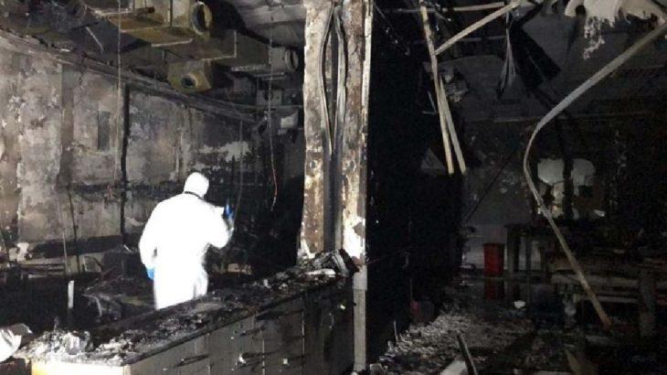 Hastanenin Covid-19 servisindeki patlamada ölenlerin sayısı 10'a yükseldi
