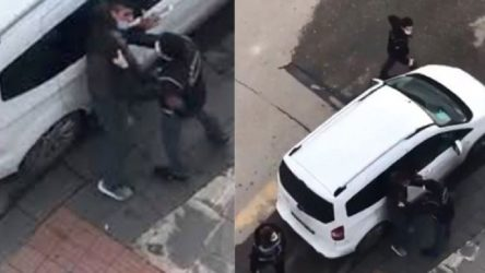 Batman'da atık kağıt işçisi, polis tarafından darp edildi
