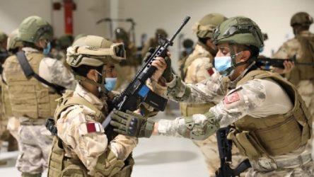 Milli Savunma Bakanlığı'ndan Katarlı komandolara eğitim