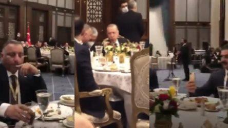 Erdoğan'dan Saray'da sazlı sözlü ziyafet