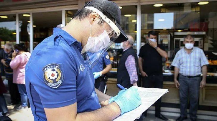 Koronavirüsle birlikte idari para cezaları yüzde 46 arttı