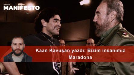 Bizim insanımız Maradona