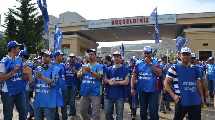 Muhalefetten Kristal İş Sendikası Genel Merkezi'ne çağrı