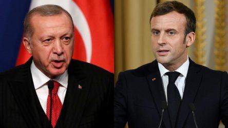 Macron: Erdoğan'ın Türkiye'sine karşı ifade özgürlüğünü savunmalıyız